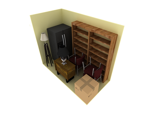 5'x10' Storage Unit